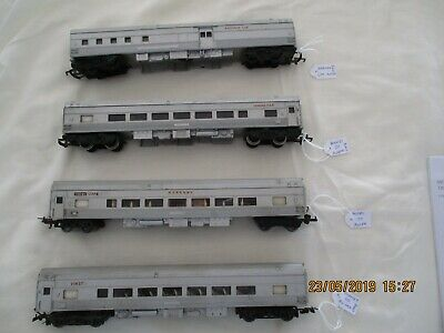 Hornby Carriages (8) - Southern Aurora - Silver