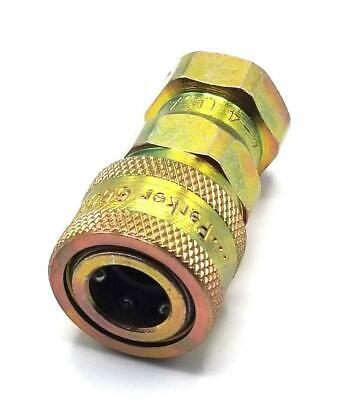 Parker 6601-4-4 Hydraulic Quick Connect Coupler  (7 Available)