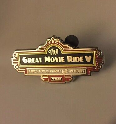Disney Pin Hidden Mickey 2019 Wave C Attraction Signs The Great Movie Ride