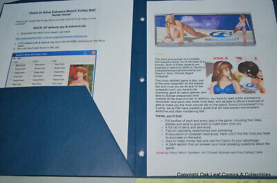 Dead or Alive Extreme Beach Volley Ball Hack sheets in folder.