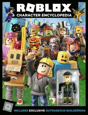 ROBLOX  CHARACTER  ENCYCLOPEDIA  by Egmont Publishing UK 9781405291613 BRAND NEW