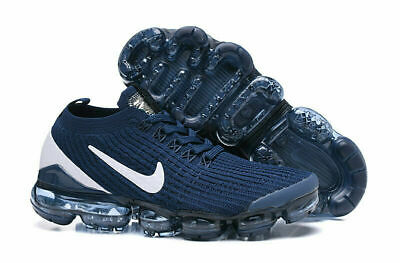 Nike Air VaporMax Flyknit 3.0 2019 Mens Running Shoes white blue