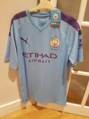 Manchester City Home Shirt 2019/20 BNWT - All proceeds to Cancer research UK