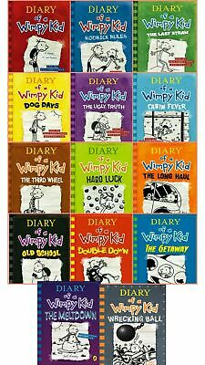 Diary Of A Wimpy Kid Collection 14 Books Set By Jeff Kinney📚PDF⚡FAST DELEVERY⚡