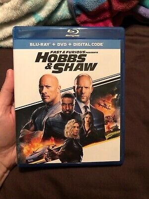Fast & Furious Presents: Hobbs & Shaw (DVD ONLY, read description)