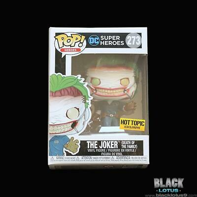 Funko Pop! The Joker Death of the Family DC Comics Hot Topic IN STOCK Pop 273