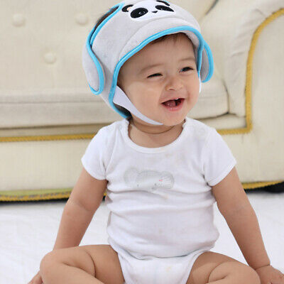 Baby Protective Hat Safety Helmet Soft Head Protection Anti-collision Cap CB