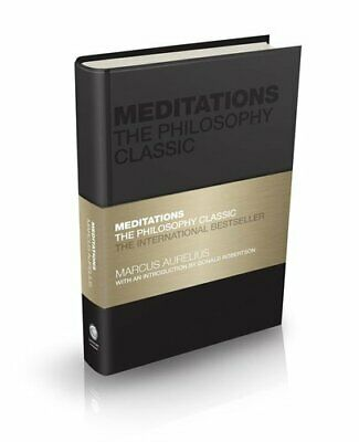 Meditations The Philosophy Classic by Marcus Aurelius 9780857088468 | Brand New