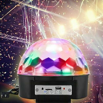 Mini Disco Party DJ LED RGB Stage Car Light Lamp Laser Crystal Magic Ball 18W