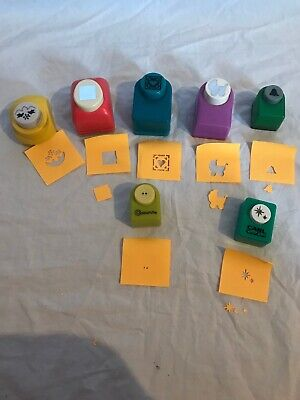 Craft Paper Punches For Card Making Scrapbooking Etc