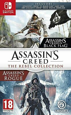 Assassin's Creed The Rebel Collection Game Nintendo Switch New Sealed