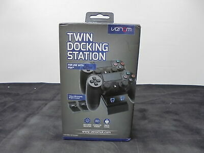 VENOM Twin Docking Station - PS4 -  Black - Currys