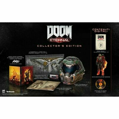 Preorder Marzo 2020 - DOOM ETERNAL Collector's Edition Playstation 4 PS4 NEW