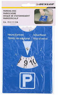 15cm x 11cm Large Car Parking Disc Timer Clock Blue Badge Disability Holder
