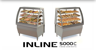 Food Display Cabinet Inline 5000 Curved - Freestanding RRP £3500