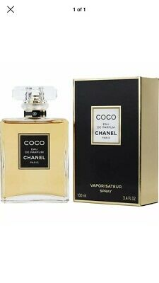 Coco Chanel 3.4 Oz / 100 Ml Eau De Parfum Perfume Spray For Women Brand New Edp
