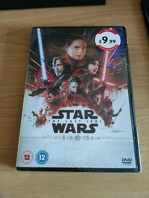 Star Wars The Last Jedi Genuine DVD movie - NEW SEALED