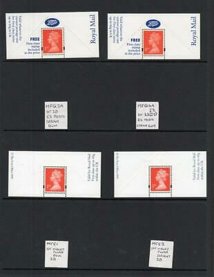 SPECIALISED COLLECTION OF UNMOUNTED MINT 1st NVI BOOTS LABELS ON 3 PAGES