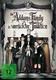 Die Addams Family in verrückter Tradition by Barr...   DVD   condition very good