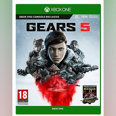 Gears Of War 5 Five Xbox One Sealed New Still Shrink wrapped