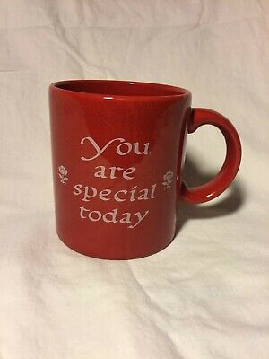 "Waechtersbach-""You are Special Today""- Red Coffee/ Tea Mug"