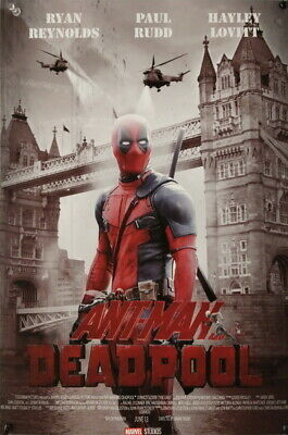 "254 Deadpool - Soldier Killer Ryan Reynolds Hero Movie 14""x21"" Poster"