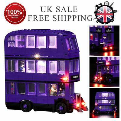 LED Light Up Kit For LEGO 75957/The Knight Bus Lighting Set building kit Bus Hot