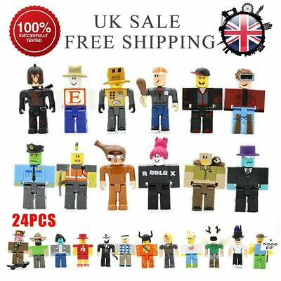 24pcs/set Roblox Games Action Figure Toy 8cm Collection Doll Toy  Xmas Kids Gift