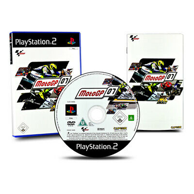 Playstation 2 PS2 Juego Moto Gp 07 IN Paquete Original con Manual