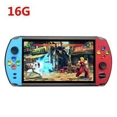 """X19 Retro 8/16GB Handheld Game Player 7.0"""" Screen FC Arcade Video Game Console"""