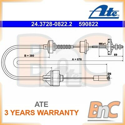 ATE CLUTCH CABLE PEUGEOT OEM 24372808222 2150H1