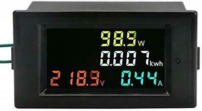 AC Power Meter DROK AC 80 300V 100A Voltage Current Color LCD Display Panel