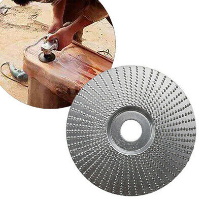 "4"" Woodwork Grinding Shaping Angle Grinder Disc Wheel Polishing Pad Flat Parts"