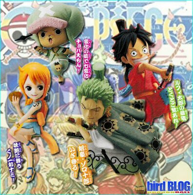 Set World Collectable Figure WCF One Piece Zoro Chopper Nami Luffy Jump 2019
