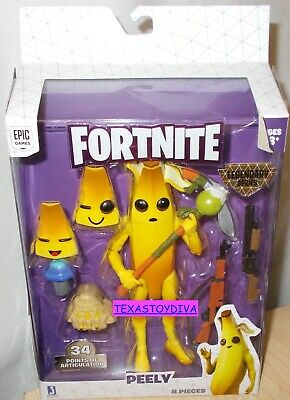 Fortnite Game Legendary Series *PEELY* Articulated Figure Weapon 8 Piece Banana