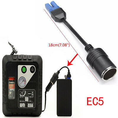 Auto Electric EC5 Connector For Jump Starter Car Cigarette Lighter Adaptor Cable