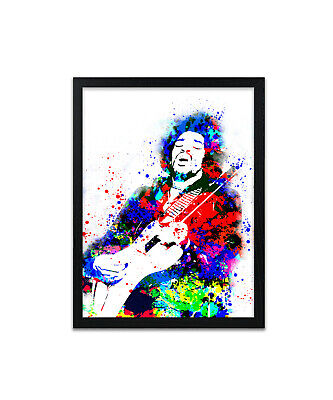 Jimi Hendrix print, poster, prints, posters, watercolour, wallart, gift, gifts