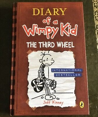 The Third Wheel (Diary of a Wimpy Kid book 7) by Jeff Kinney (Paperback, 2014)