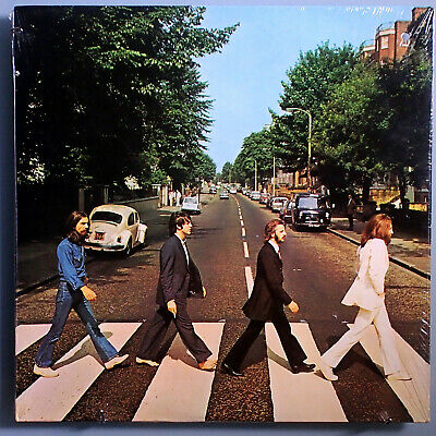 The Beatles~Abbey Road~Ultra-Rare Sealed Orig'69 Apple Promo Lp~Cover Version #3