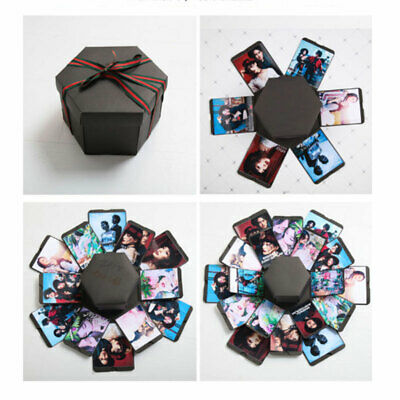DIY Surprise Explosion Box Creative Scrapbook Photo Album Box Love Memory gifts
