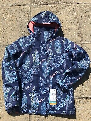 Brand New Girls Ladies Roxy Jetty Snowboard Ski Jacket, Age 16 (Ladies 8-10 )