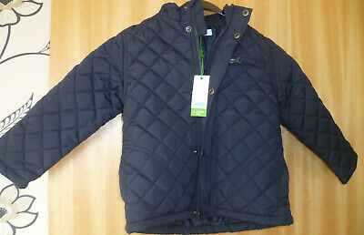 Girl's Navy Blue Quilted Jacket. Aged 2-3 Years. BNWT