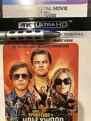 Once Upon A Time In Hollywood - Digital 4K Only