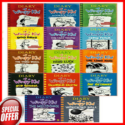 Diary Of A Wimpy Kid Collection 14 Books Set By Jeff Kinney 📚 P.D.F & e-PUB