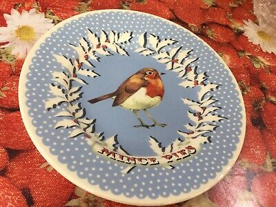 "Emma Bridgewater Robin Wreath 8.5"" Plate New Best"