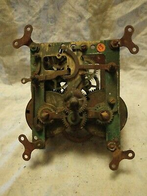 Old B Clock Movement For Spares Or Repairs No 13