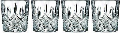 Double Old Fashioned Glasses Waterford Markham Scotch Whiskey Crystal 2 + 2 Free