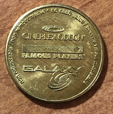 CINEPLEX ODEON FAMOUS PLAYERS GALAXY ~ Game Token-Jeton d'Arcade ~ Choose yours!