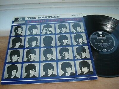 The Beatles A Hard Days Night EX/EX PLAYS EX!! LAMINATED COMPLETE 1971 UK LP