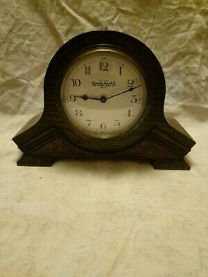 Old 8 Day Camerer Cuss And Co Clock With French Movement For Spares Or Repairs